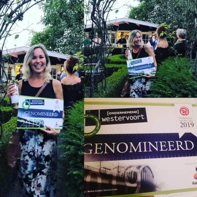 Genomineerd voor Ondernemer van het Jaar!