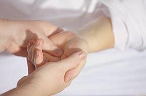 Reiki handen