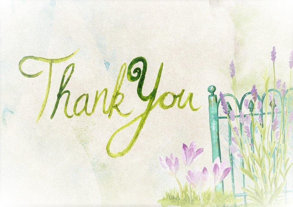 Wanneer ben jij dankbaar?